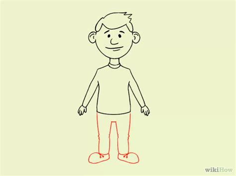 How To Draw A Easy Person,
