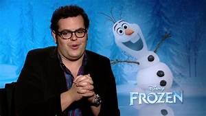 "Frozen: Josh Gad, voice of ""Olaf"" Official Movie Interview ..."