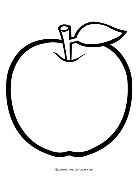chambre au mois coloriage nourriture fruits à colorier allofamille