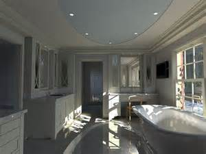 computer designed luxury master bath and walk in closet
