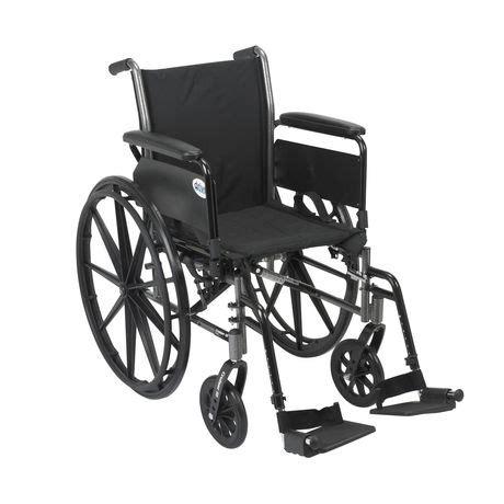 siege roulant fauteuil roulant léger avec siège de 20 po cruiser iii