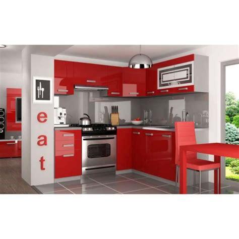 cuisine equipee complete justhome lidja l pro l cuisine équipée complète 190x170 cm