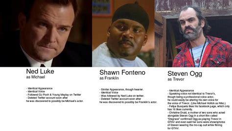 Voice Actors Behind Michael, Franklin, And Trevor