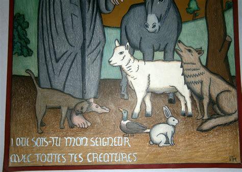 franois d assise animaux 28 images fran 231 ois d assise en oraison devant un crucifix de l