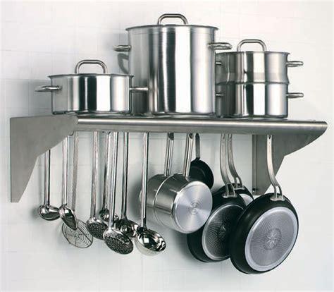 wall mounted utensils shelf matfer usa kitchen utensils