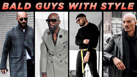 5 bald guys with great style bald men s fashion inspiration styleondeck youtube
