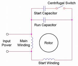 Start Run Capacitor Wiring Diagram