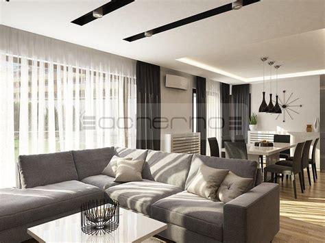 Wohnzimmer Grau Violett