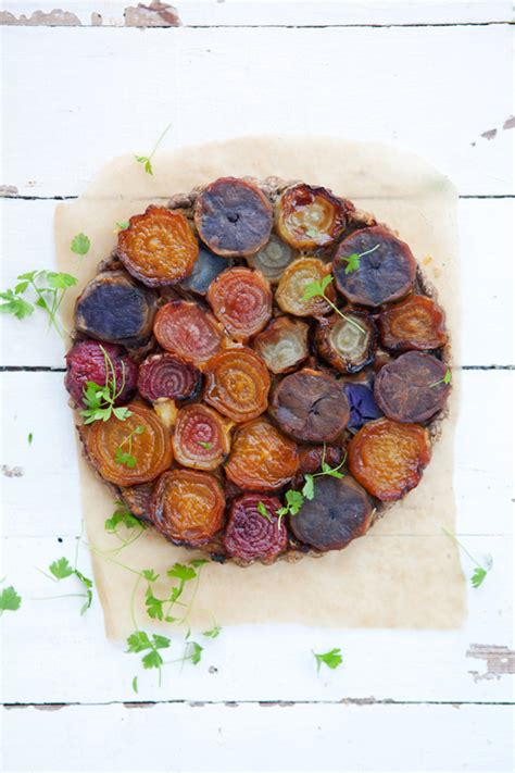 beet color a beetroot tarte tatin and a rainbow of colors cannelle