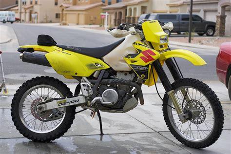 street legal motocross bikes drz400e enduro