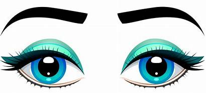 Eyes Clipart Clip Eyebrows Female Eye Transparent