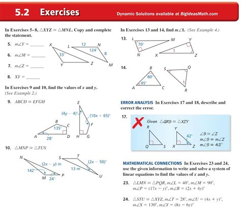 Unit 4 preview in numbers. Chapter 05 - Congruent Polygons - Mr. Urbanc's classroom