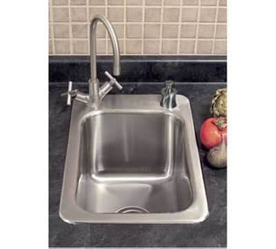 where to buy kitchen accessories advance tabco ss 1 1715 10re residential drop in sink 1 1715