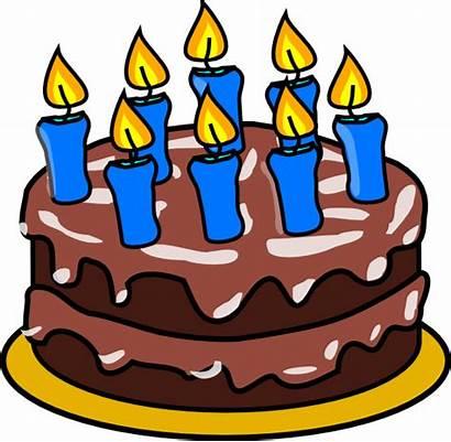Birthday Happy Clip Clipart Cliparts Cake Grandma
