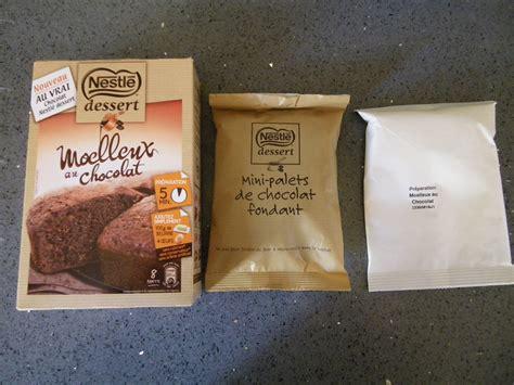 moelleux au chocolat nestle dessert la pr 233 paration pour moelleux au chocolat nestl 233 dessert les filles du web