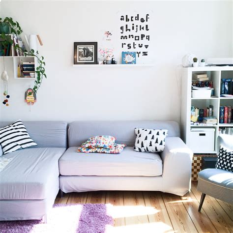 Wohnzimmerinspiration In Kupfer, Apricot Und Rosa