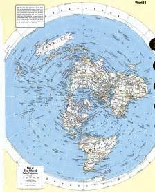 Polar Projection World Map
