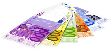 euro banknotes png clipart  web clipart