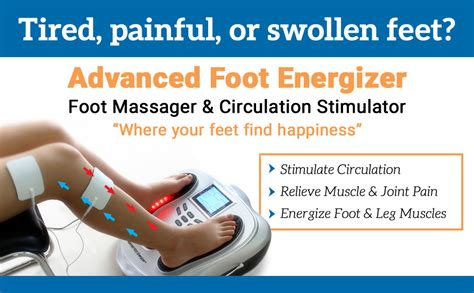 Amazon.com: FDA Cleared Electrical Foot Stimulator with
