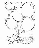 Coloring Balloons Duck Printable Ducks Balloon Birthday Ballonnen Easter Bengal Tiger Ugg Sheets Clip Clipart Eendje United Popular Colorare Bezoeken sketch template