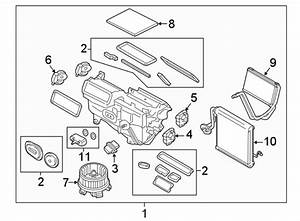 Lincoln Mkx A  C Expansion Valve  Dual  Zone  Heater
