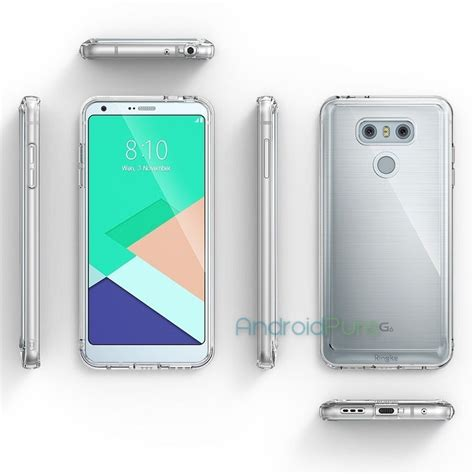 alleged lg g6 renders reveal the smartphone s design