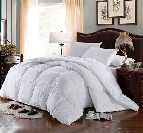 White Comforter Cover by Four Seasons Alternative White Comforter And 3