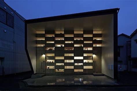 bathroom paint idea small japanese home exhibiting an intriguing wooden facade