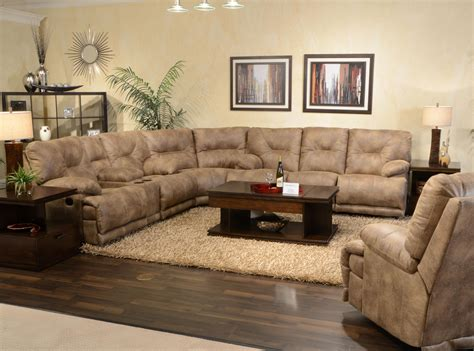 catnapper reclining sofa voyager catnapper voyager power 6 seat quot lay flat quot reclining