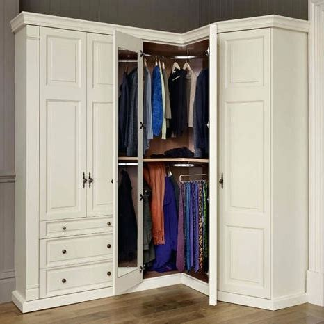 Corner Wardrobe Unit by 15 The Best White Corner Wardrobes Units