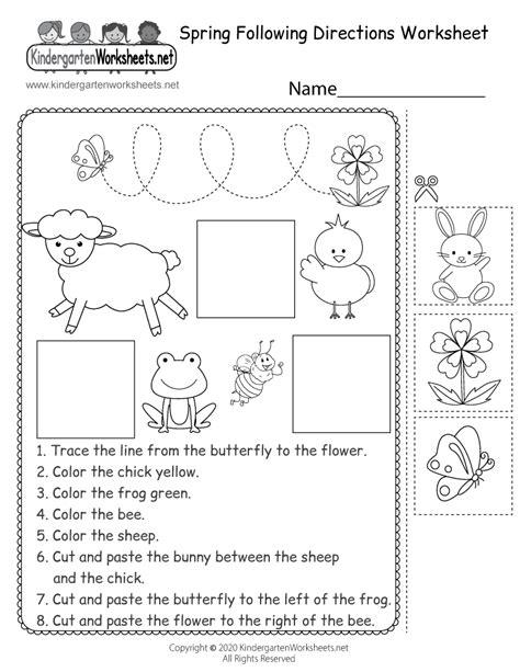 directions thanksgiving worksheet printable