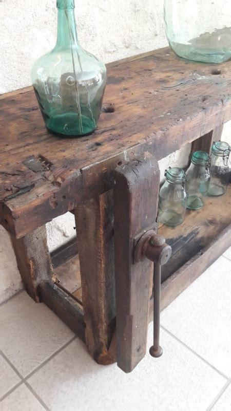 etabli bois ancien etabli de menuisier ancien les vieilles choses