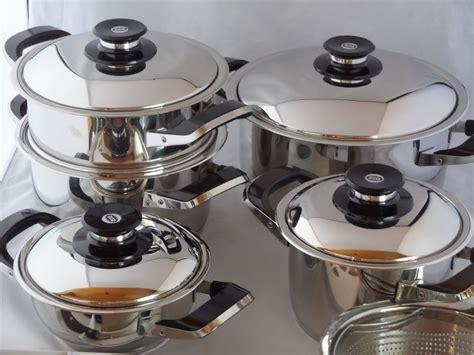 amc ensemble des casseroles 12 teilig secuquick pots de