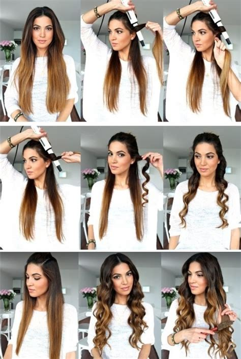 magnificas formas de hacerte peinados  una plancha