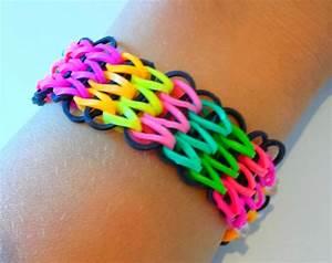 Bracelet Avec Elastique : tutoriel r aliser un bracelet lastique manchette avec une seule machine braceletelastique ~ Melissatoandfro.com Idées de Décoration