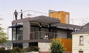 Toiture Terrasse Accessible : garde corps toit terrasse s curit sur une toiture ~ Dode.kayakingforconservation.com Idées de Décoration