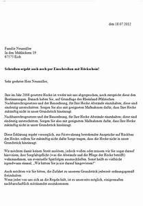 Darf Nachbar Meine Hecke Schneiden : musterbrief nachbar hecke schneiden energie und ~ Lizthompson.info Haus und Dekorationen