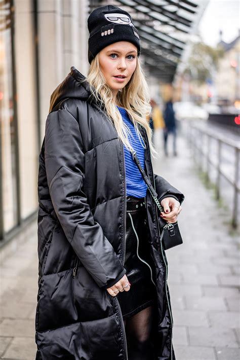 Schwarz Und Blau Kombinieren by Daunenmantel Blau Schwarz Kombinieren Fashion