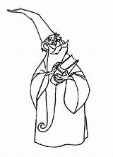 Coloring Merlin Wizard Spell Holding Magic Spells Bulkcolor Books Bulk Template sketch template