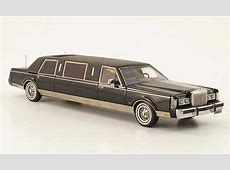 Lincoln Town Car 1985 miniature Formal Stretch Limousine