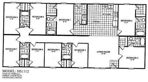6 bedroom mobile home plans 4bedroom 4 bath doublewide