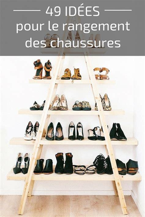 rangement astucieux chambre 49 idées astuces pour le rangement des chaussures