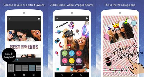 best apps to make collages on android aw center