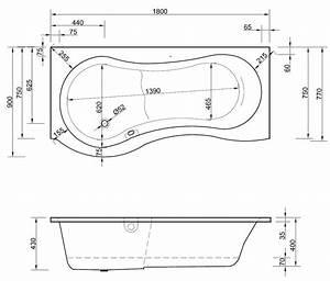Badewanne Mit Dusche Integriert : badewanne 180 x 75 90 x 42 cm mit dusche integriert duschkabine ~ Sanjose-hotels-ca.com Haus und Dekorationen