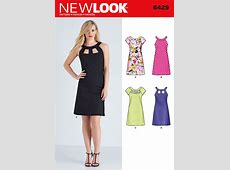 New Look 6429 Misses' Dresses sewing pattern