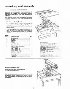 Craftsman 11323100 User Manual 10 Inch Radial Saw Manuals