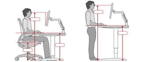 what is desk height ergonomic office desk chair and keyboard height calculator
