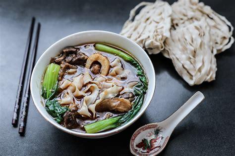 taiwanese beef shank noodle soup ang sarap