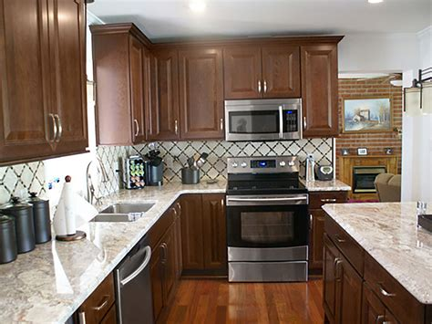 Cherry Cabinets by Cherry Cabinets Southern Kitchen Update