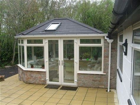 Tiled Conservatory Extension